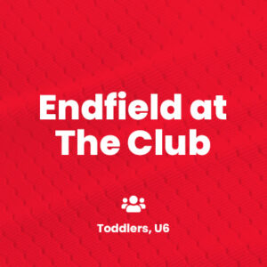 Football training at Endfield at The Club